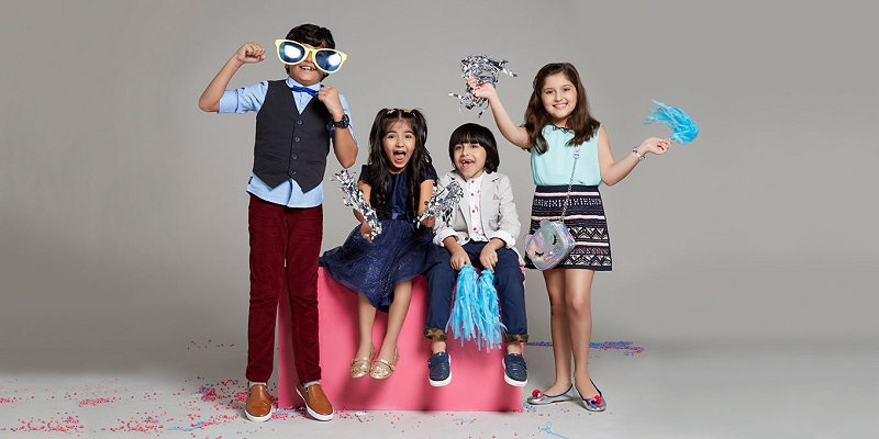 How kids' outfits can be easily chosen?