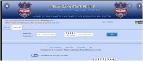 Telangana e-challan is an honest method of penalizing defaulters