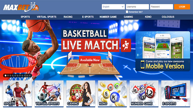 Selecting a maxbet website