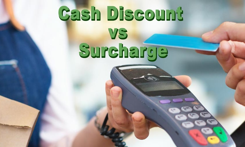 Cash Discounting vs. Surcharge
