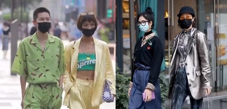 Chinese new fashion style on TikTok