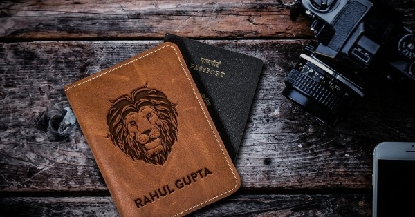 Lion Design Leather Personalized Passport Cover- Are they worth a buy?