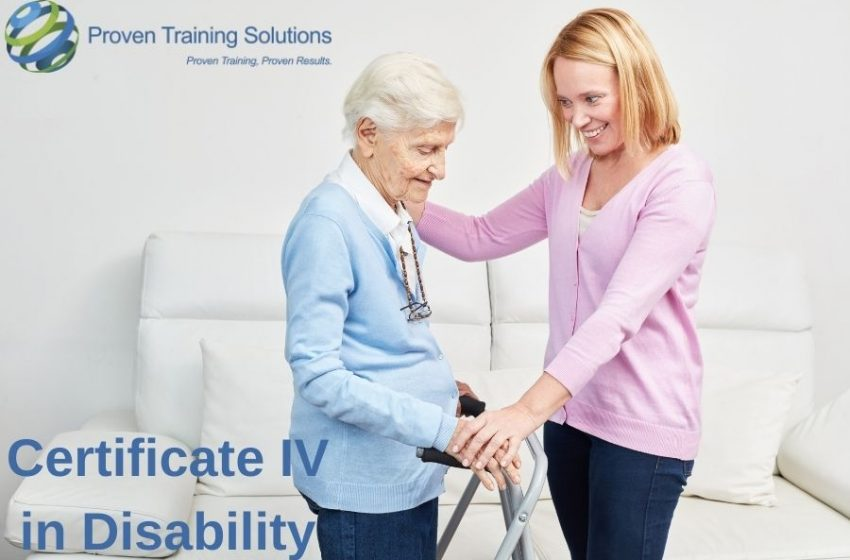 Special Course in Australia to Crack Certification in Disability assistance
