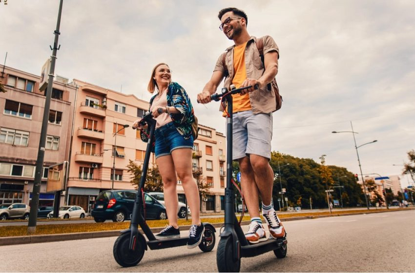 Electric Scooters: A Boon To The Environment