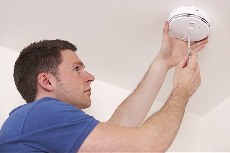 Smoke alarm Testing and Home Security System Problems