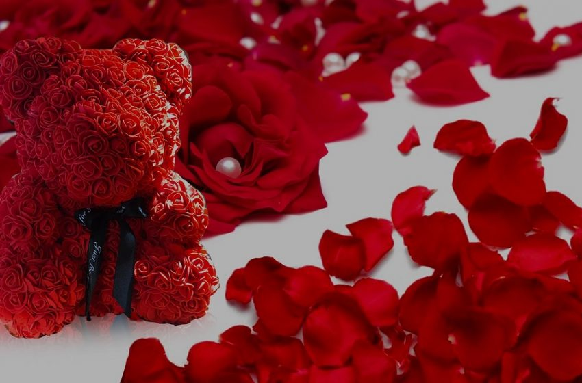 Get A Rose Bear For Your Rose, To Fill The Life With Bouquet Of Roses!