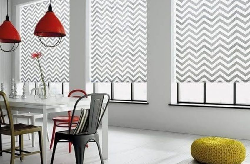 Printed blinds – for an attractive room