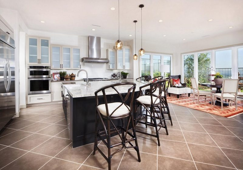 How to choose flooring for kitchen: